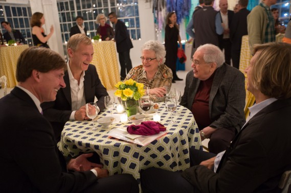 JK Brown, Stephen Reily, Carol Cole Levin, Seymour Levin and Eric Diefenbach
